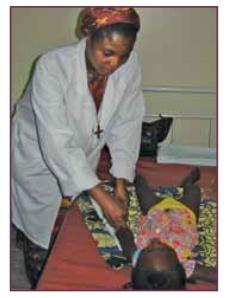 Sr Adrienne, an SND Nurse